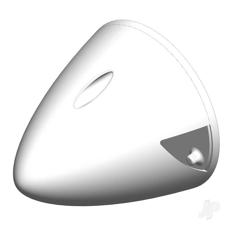 67mm Nylon Spinner, Chrome (for FunRacer) 1-00629