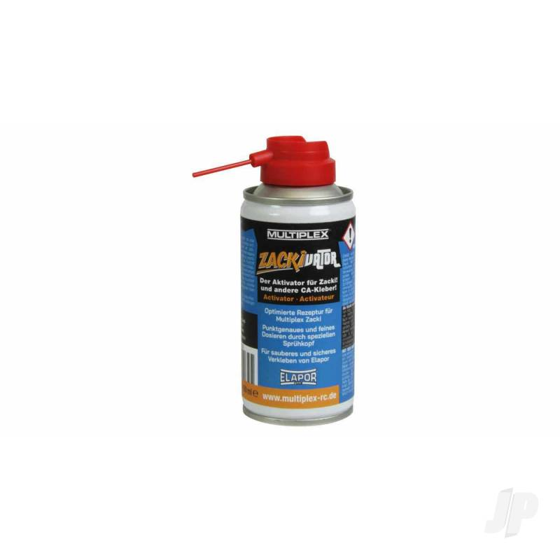 Zackivator Activator Spray for Zacki and CA Glue 150ml