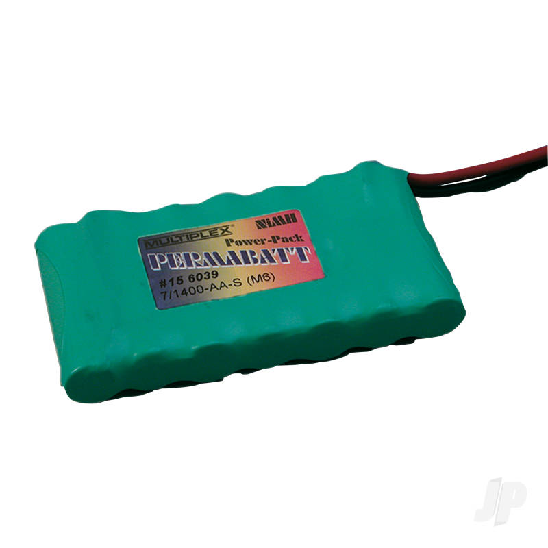 Permabat Drv NiMH 7/1400-AA-S (M6) 156039