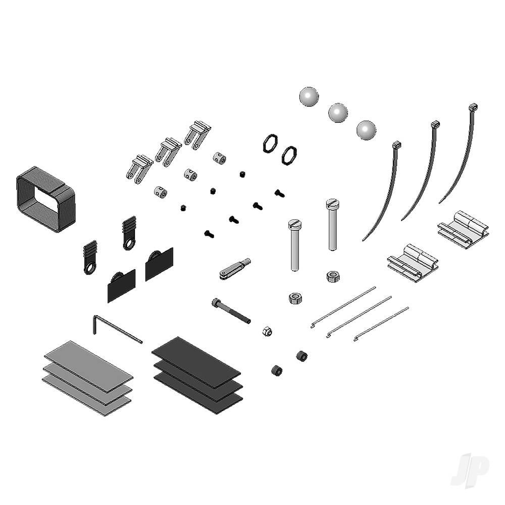 Small Parts Set Solius 224254
