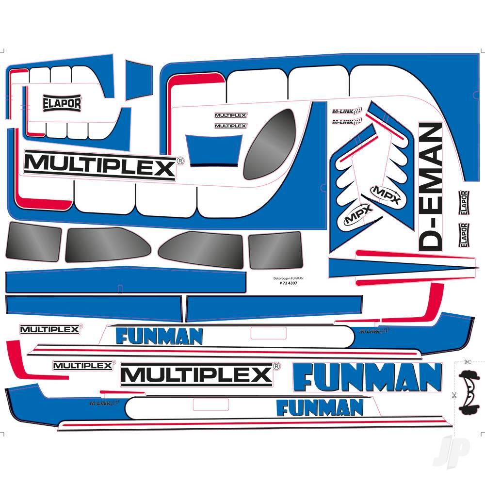 Decal Funman 724397