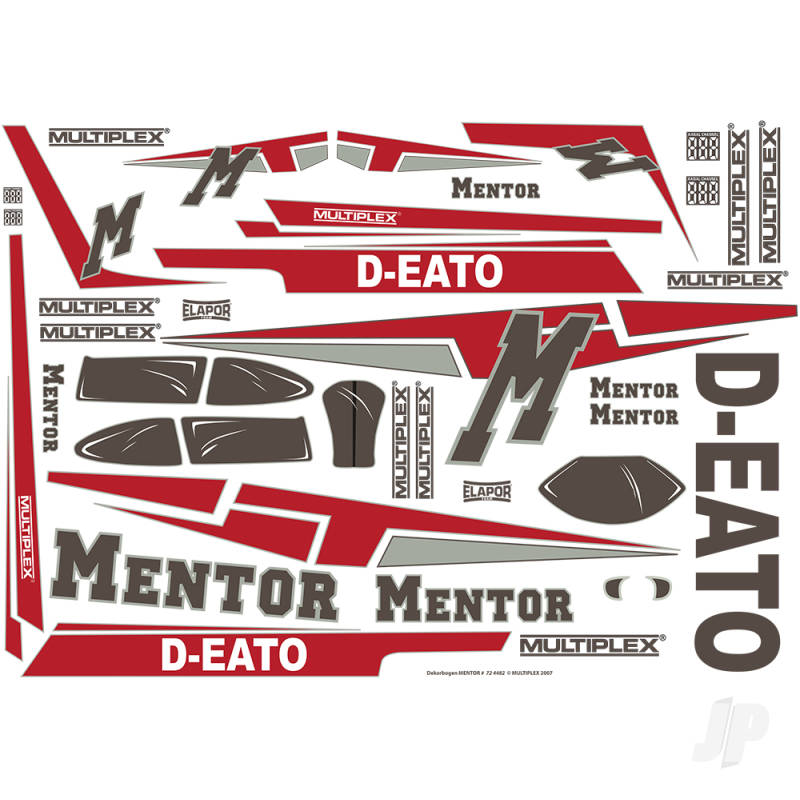 Decal Sheet Mentor 724482
