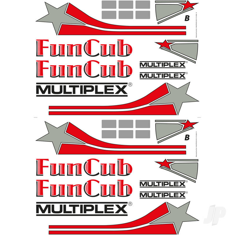 Decal Sheet Funcub 724565