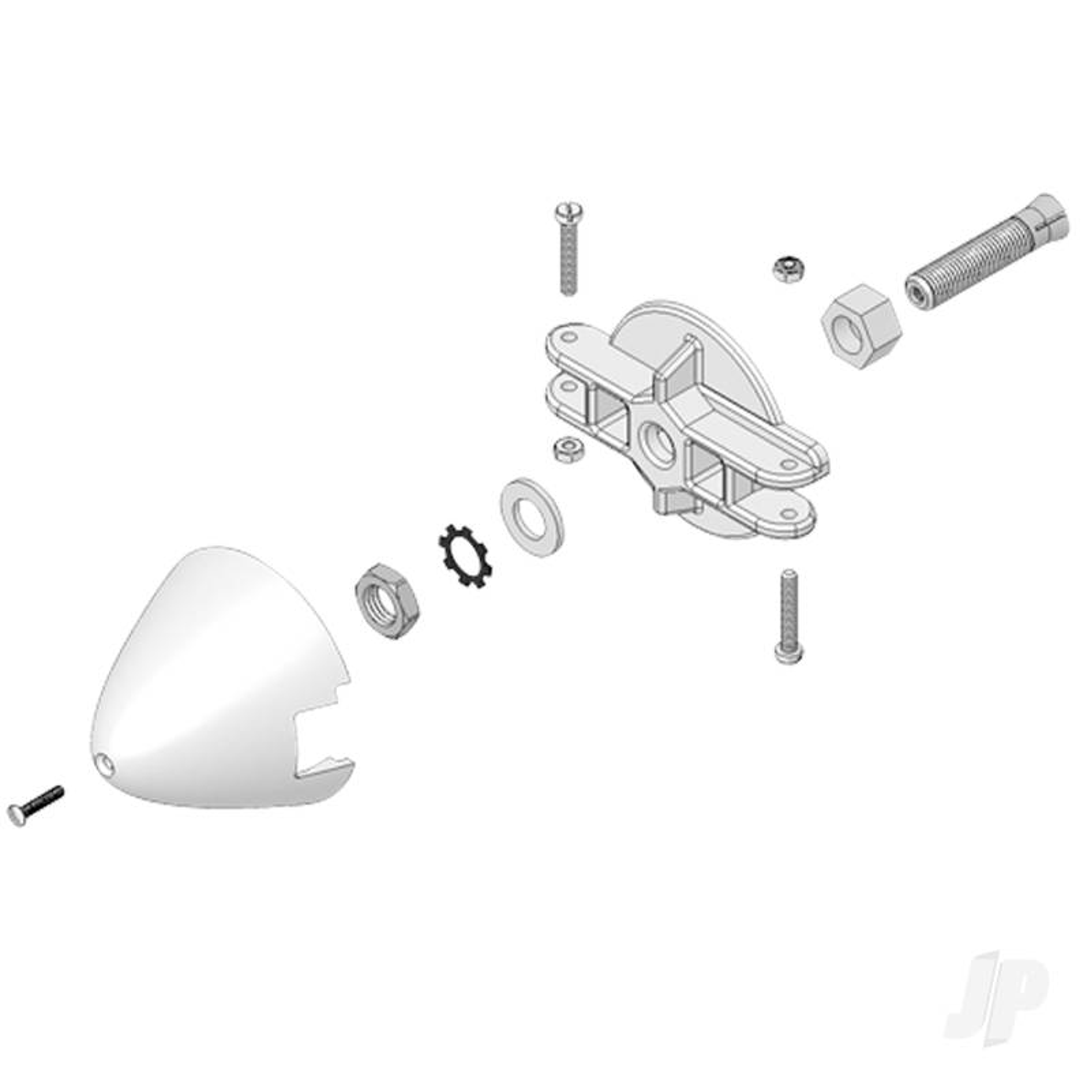Panda Propeller Driver and Spinner Set 733508