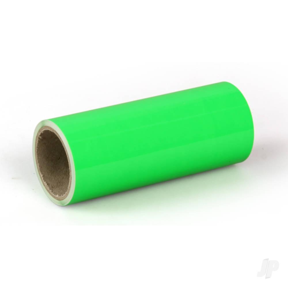 2m ORATRIM Fluorescent Green (9.5cm width)