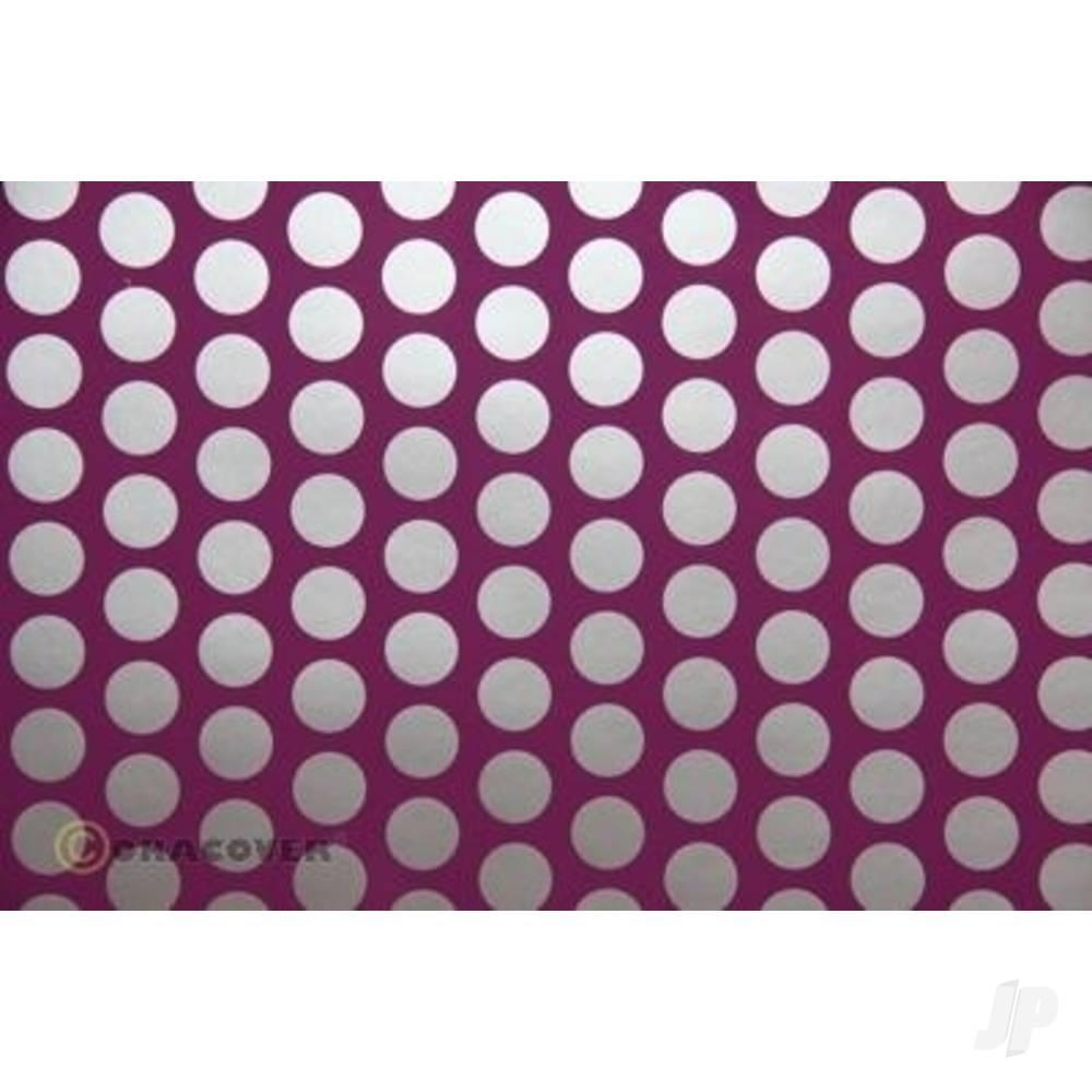 2m Oracover Fun-1 Purple/Silver