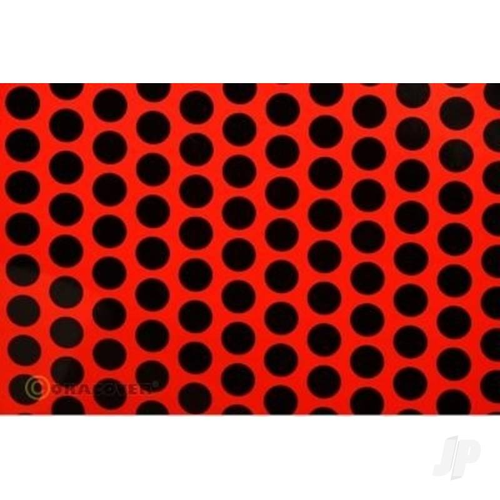 2m Oracover Fun-1 Red/Black