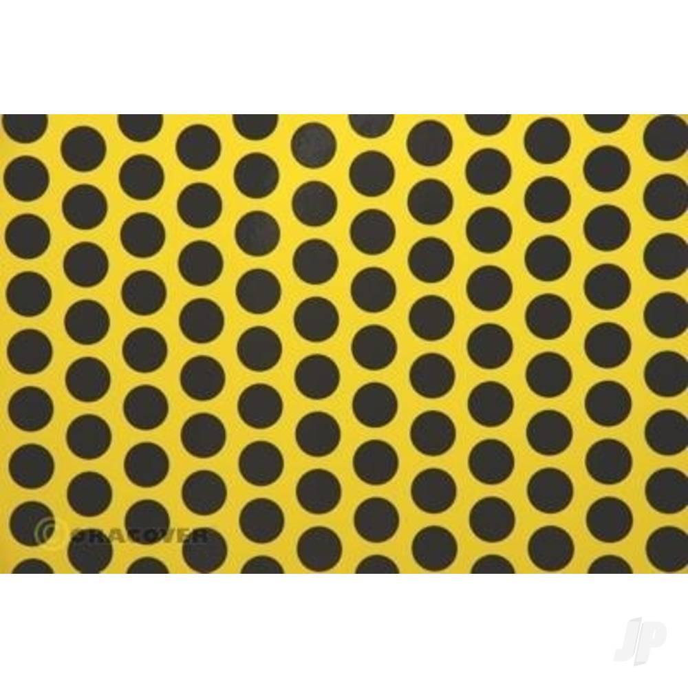 2m Oracover Fun-1 Yellow/Black