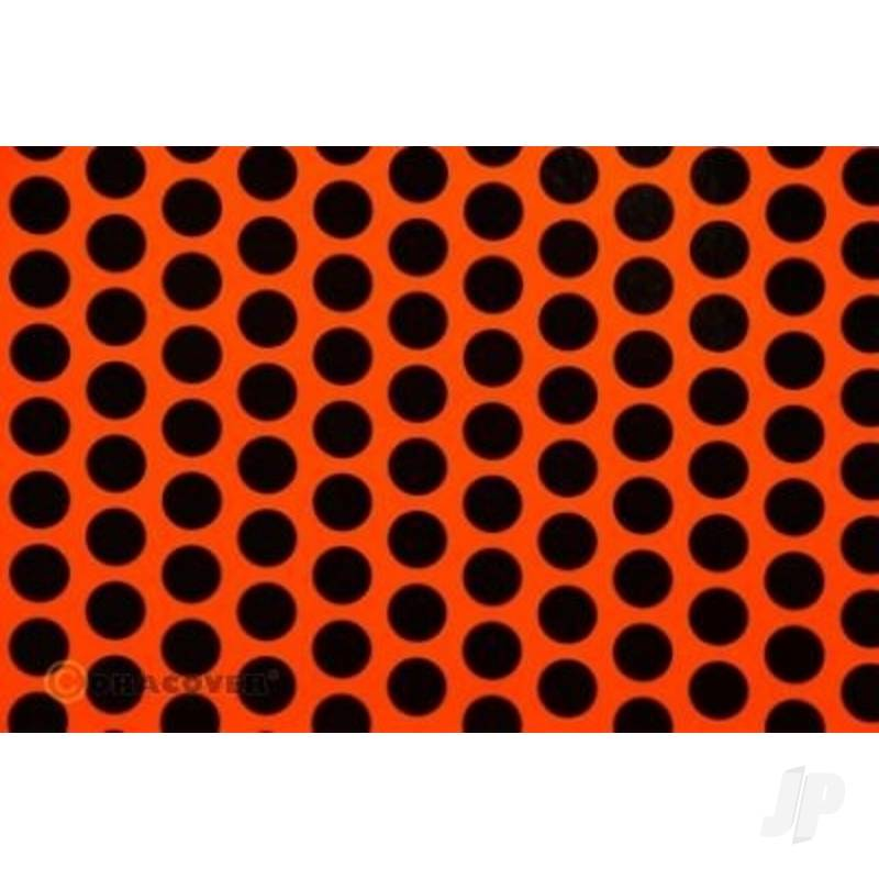 2m Oracover Fun-1 Orange/Black