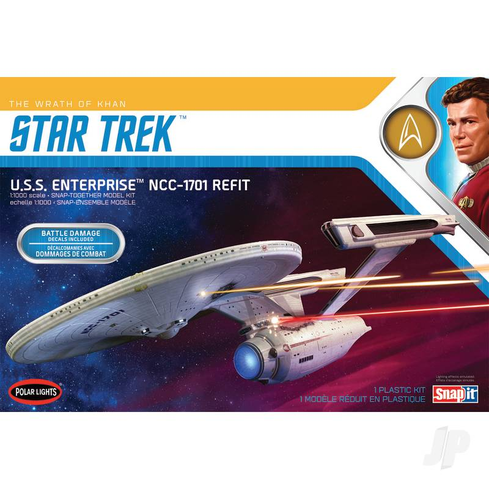1:1000 U.S.S. Enterprise - Wrath of Khan