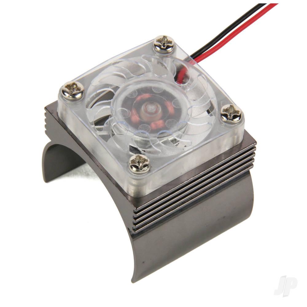 Motor Heatsink With 30mm Cooling Fan