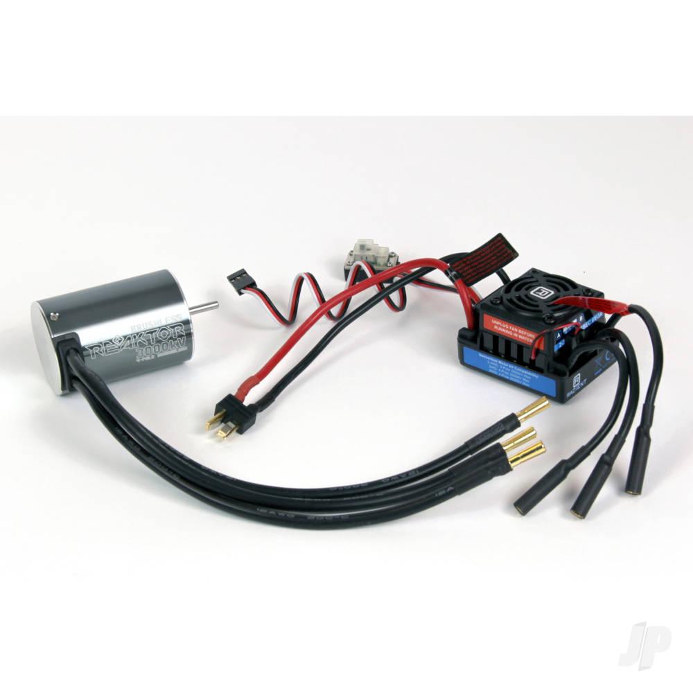 Brushless Combo, NS 50A-3000kV 4P