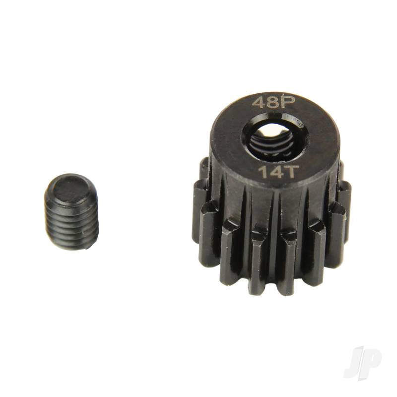 Pinion Gear, 48P, Steel 14T