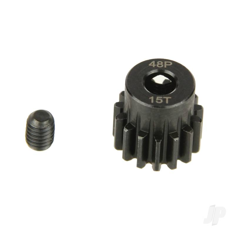 Pinion Gear, 48P, Steel 15T