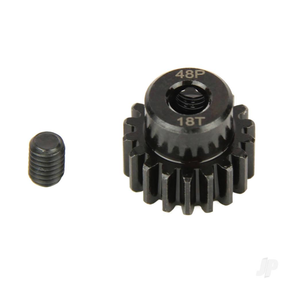 Pinion Gear, 48P, Steel 18T