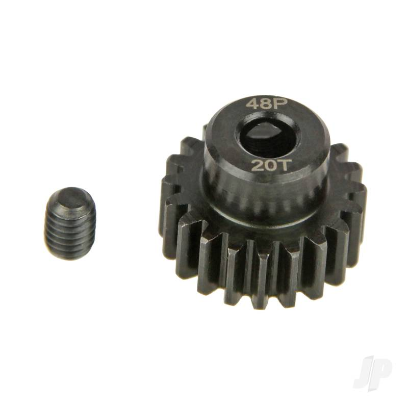 Pinion Gear, 48P, Steel 20T