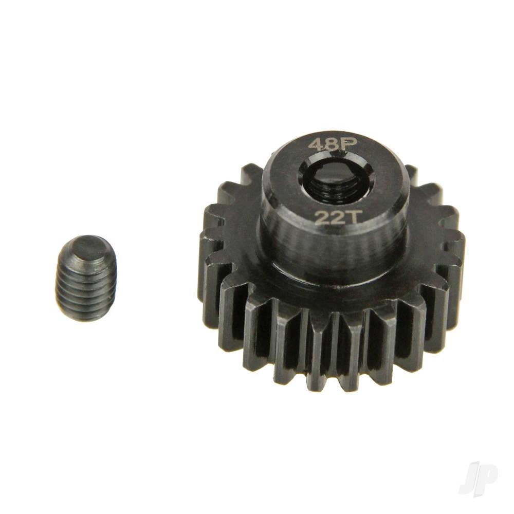 Pinion Gear, 48P, Steel 22T
