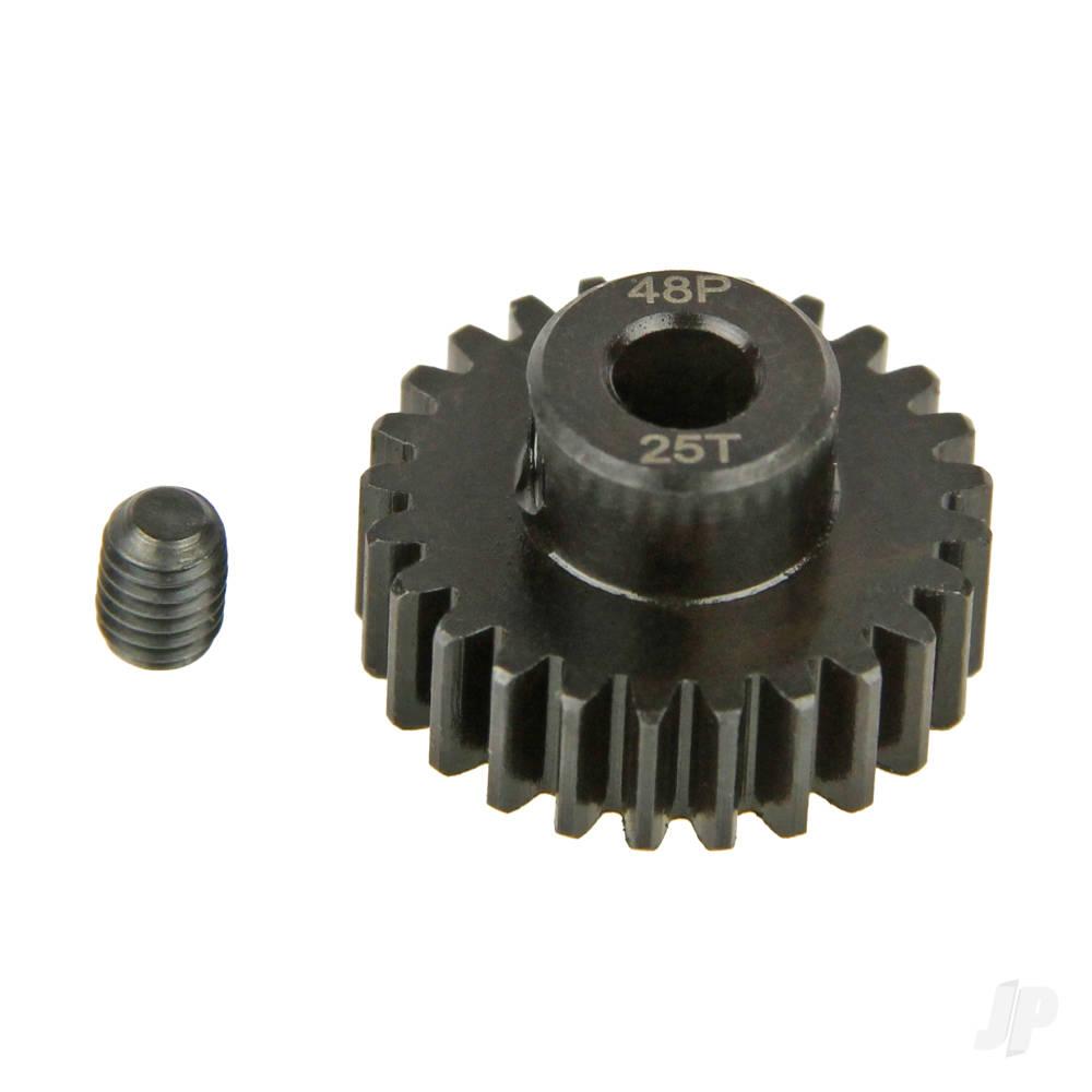 Pinion Gear, 48P, Steel 25T