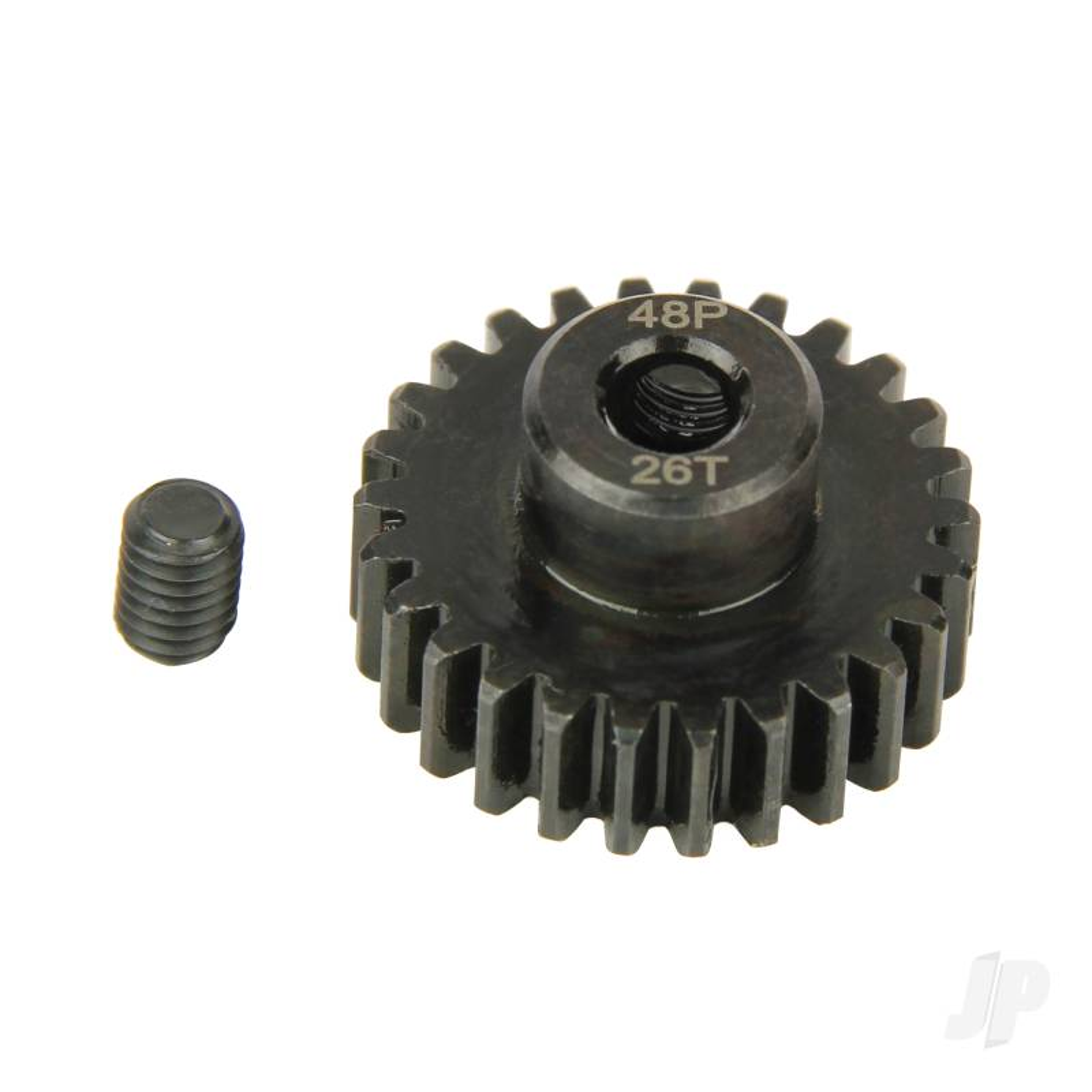 Pinion Gear, 48P, Steel 26T