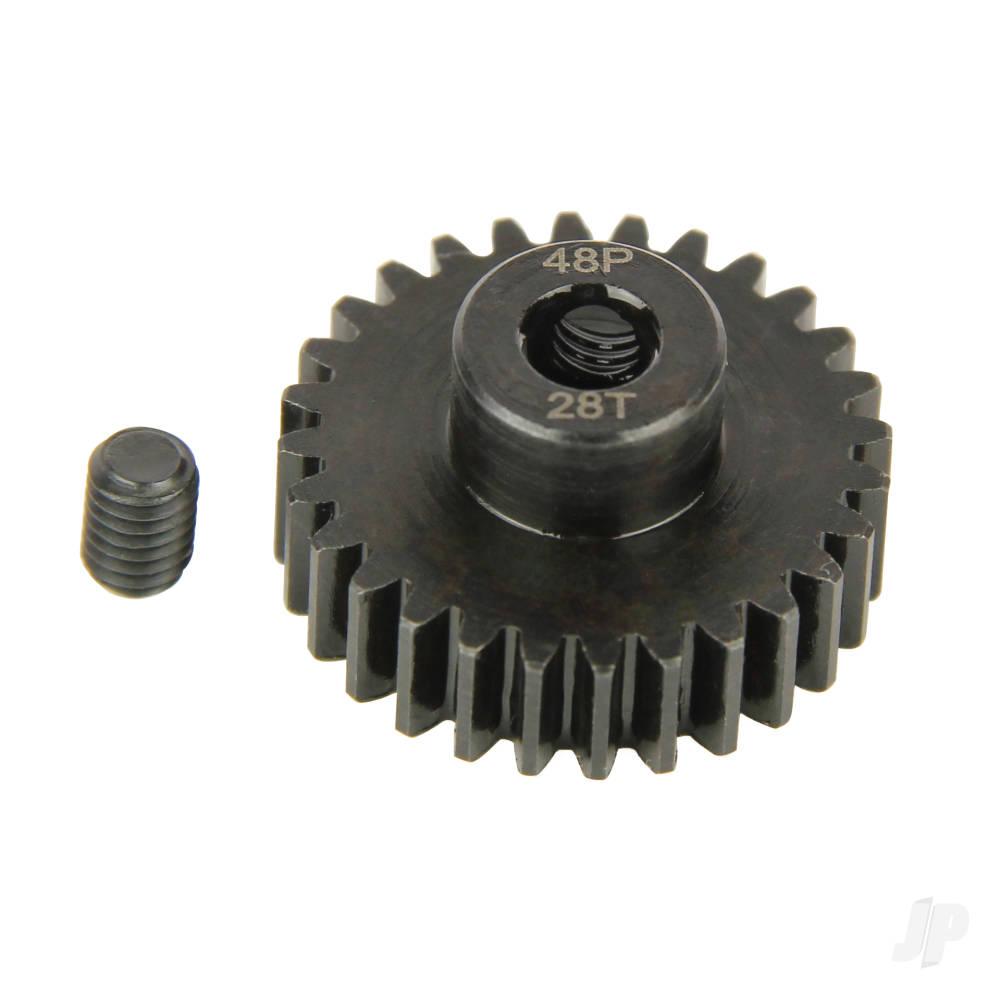 Pinion Gear, 48P, Steel 28T
