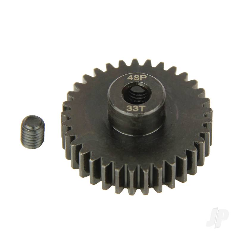 Pinion Gear, 48P, Steel 33T