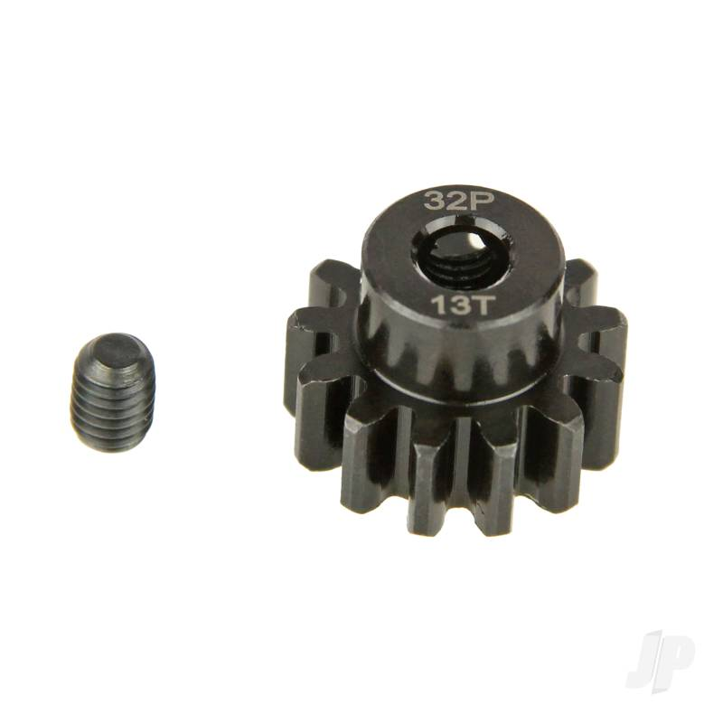 Pinion Gear, 32P, Steel 13T