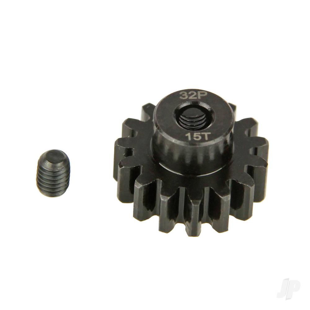 Pinion Gear, 32P, Steel 15T