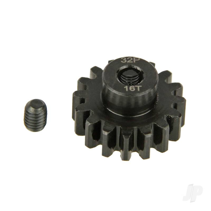 Pinion Gear, 32P, Steel 16T