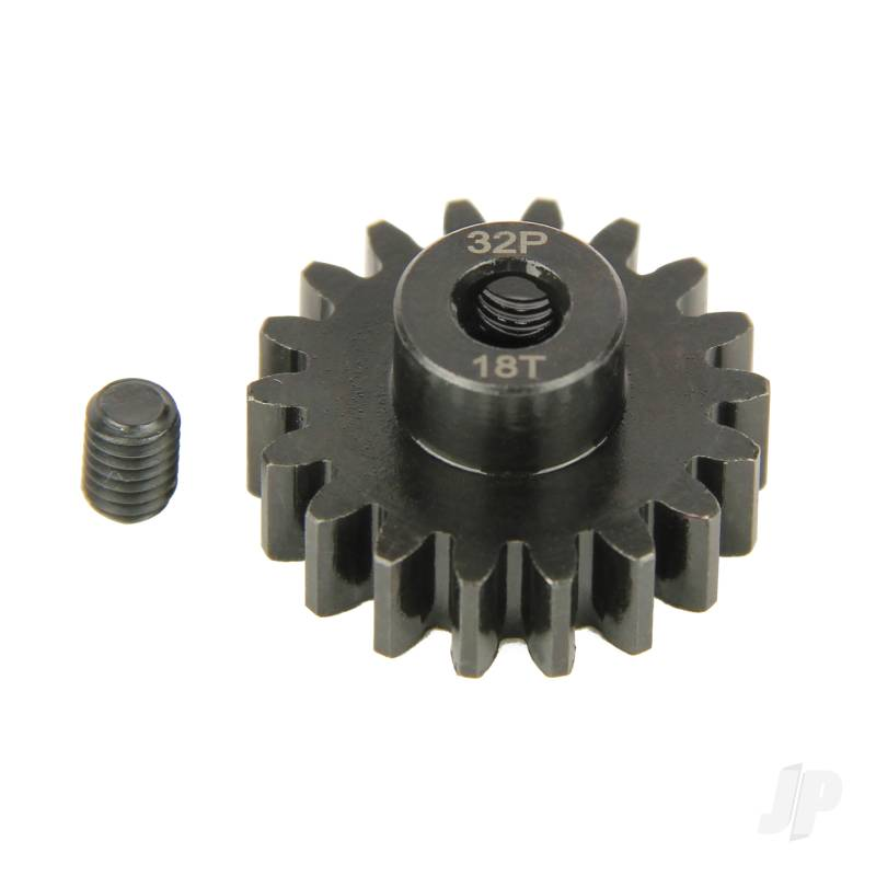 Pinion Gear, 32P, Steel 18T