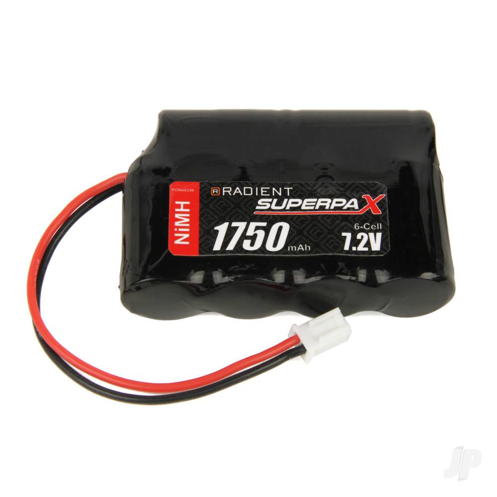 NiMH 7.2V 1750mAh 2/3A 4-2 SBS-Flat, Mini