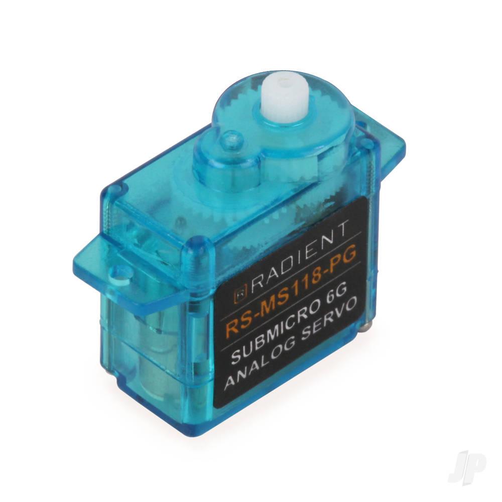 RS-SM118-PG Sub-Micro 6g Analog Servo