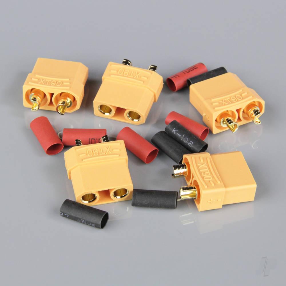 XT90 Female including Heat Shrink (Battery End) (5pcs)