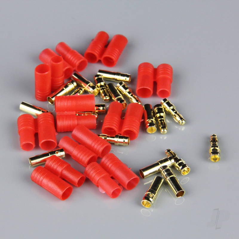 3.5mm HXT Pairs Connector With Polarity Housing (10pcs)