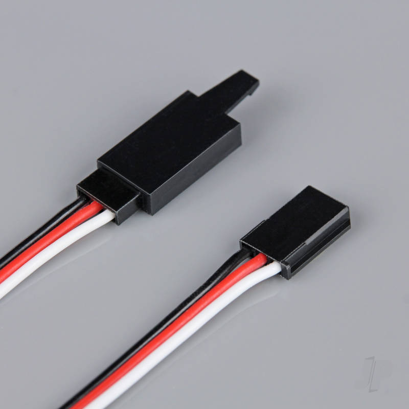 Futaba HD Extension Lead with Clip 100mm