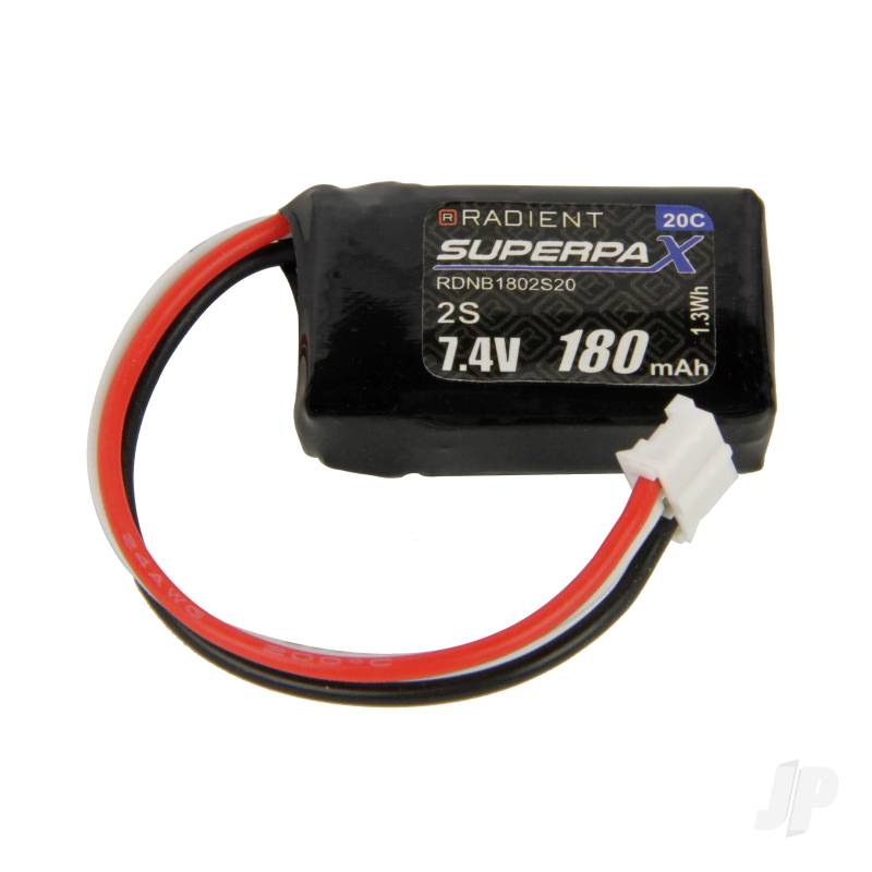 LiPo 2S 180mAh 7.4V 20C 3-Pin