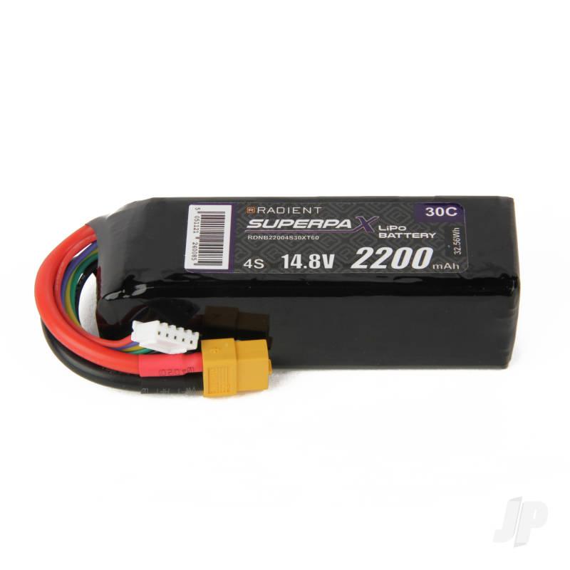 LiPo 4S 2200mAh 14.8V 30C XT60
