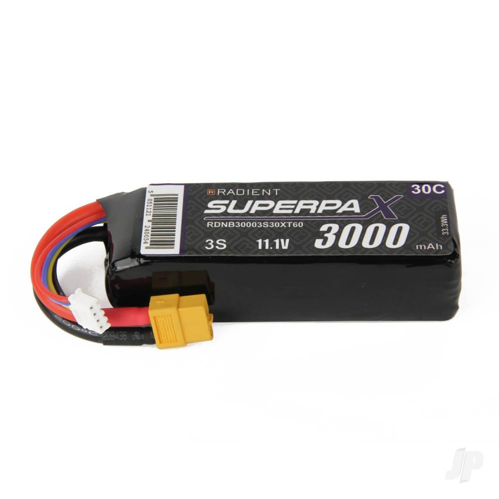LiPo 3S 3000mAh 11.1V 30C XT60