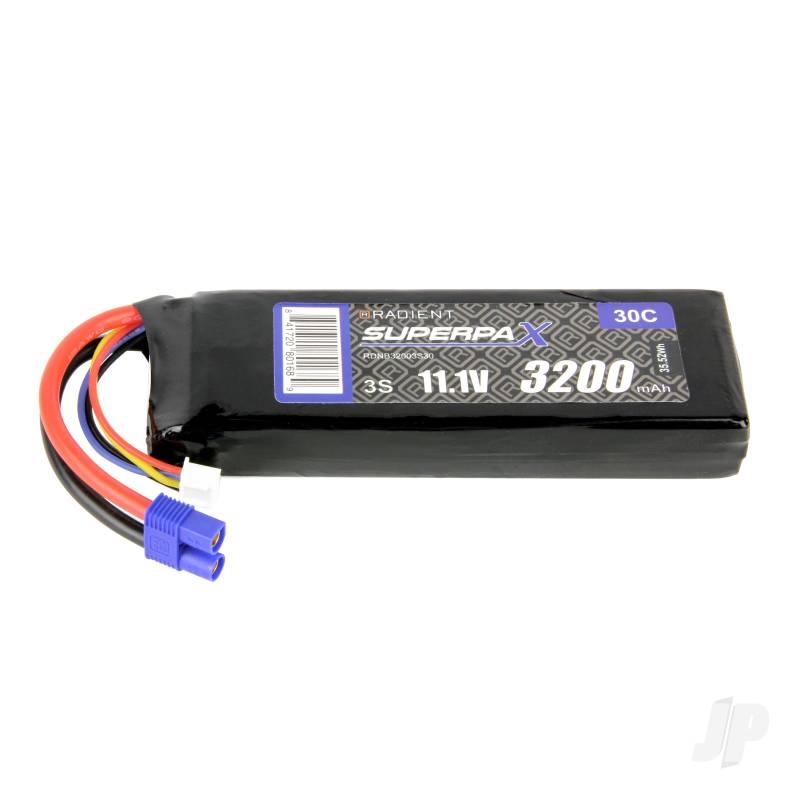 LiPo 3S 3200mAh 11.1V 30C EC3