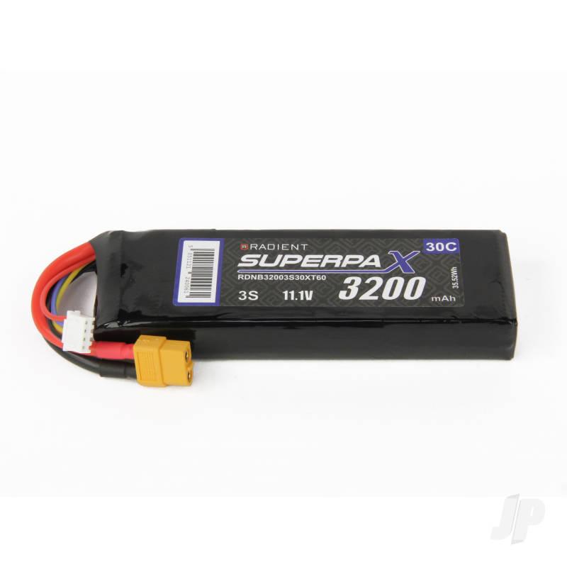 LiPo 3S 3200mAh 11.1V 30C XT60