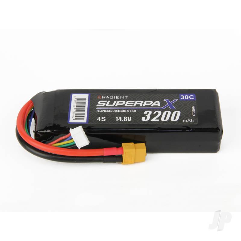 LiPo 4S 3200mAh 14.8V 30C XT60