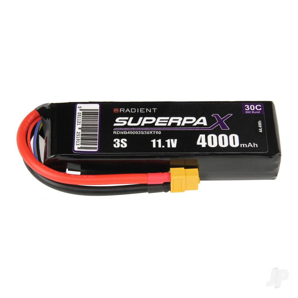 LiPo 3S 4000mAh 11.1V 30C XT60