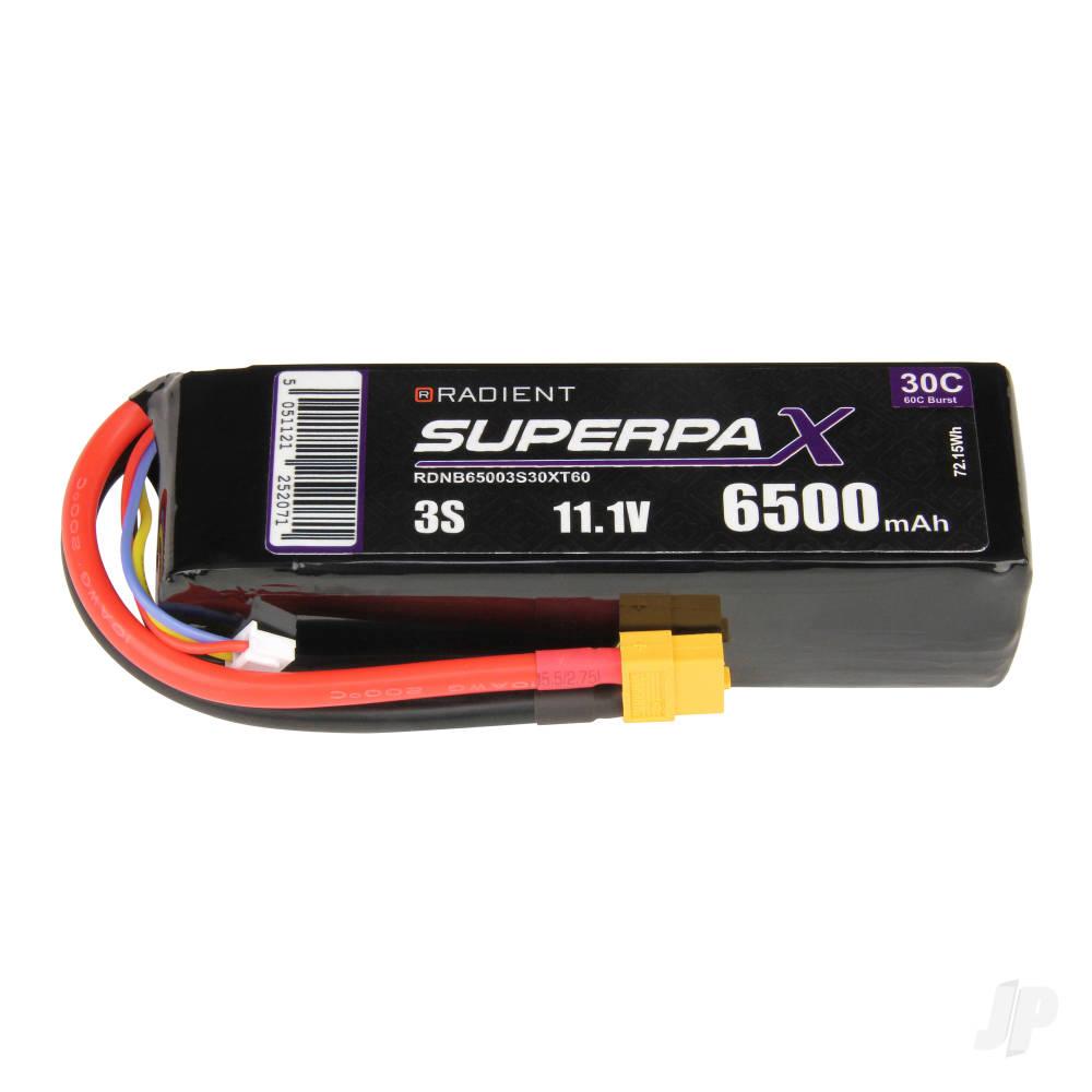 LiPo 3S 6500mAh 11.1V 30C XT60