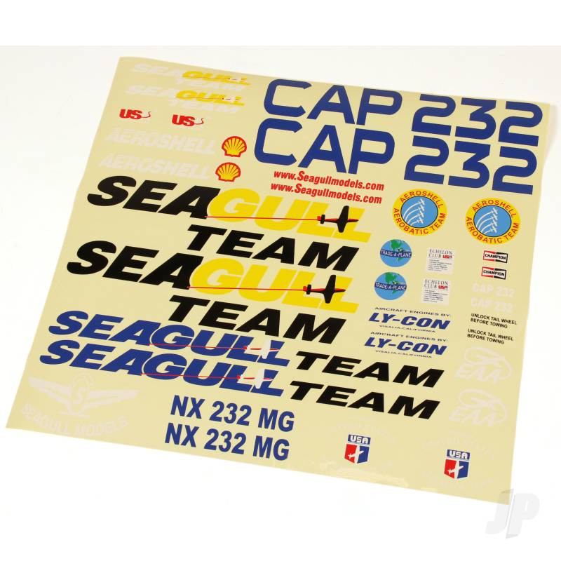 CAP 232 Decal Set (for SEA-91)