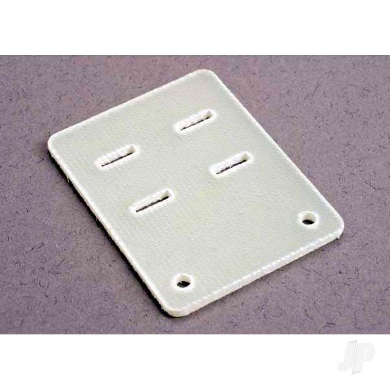 Resistor plate, fiberglass