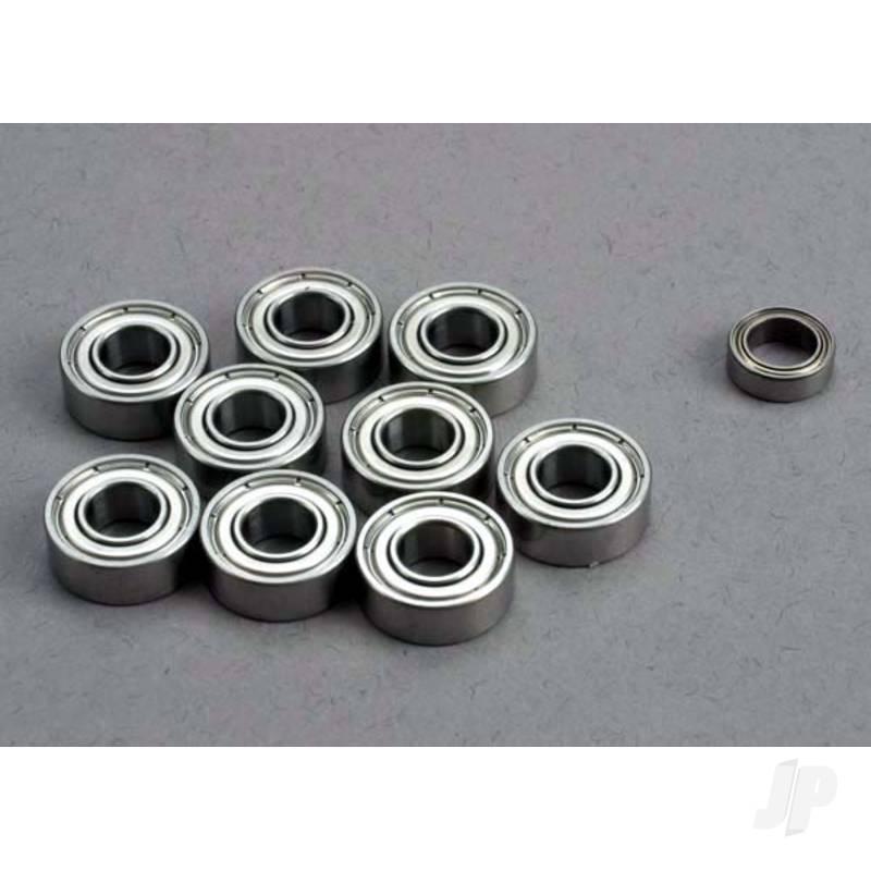 Ball bearing Set: 5x11x4mm (9 pcs) / 5x8x2.5mm (1pc)