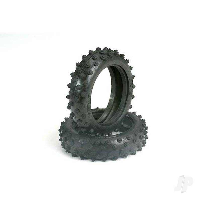 Tyres, 2.1in spiked (front) (2pcs)