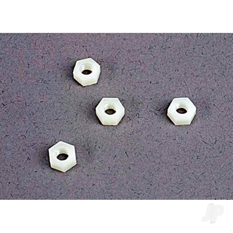 4mm nylon wheel nuts (4pcs)