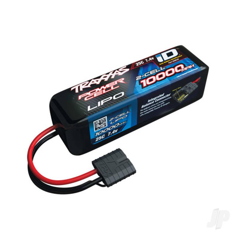 LiPo 2S 10000mAh 7.4V 25C TRX Battery