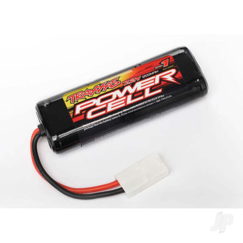 NiMH 7.2V 1200mAh 6-Cell Power Cell Battery, Flat (Molex)