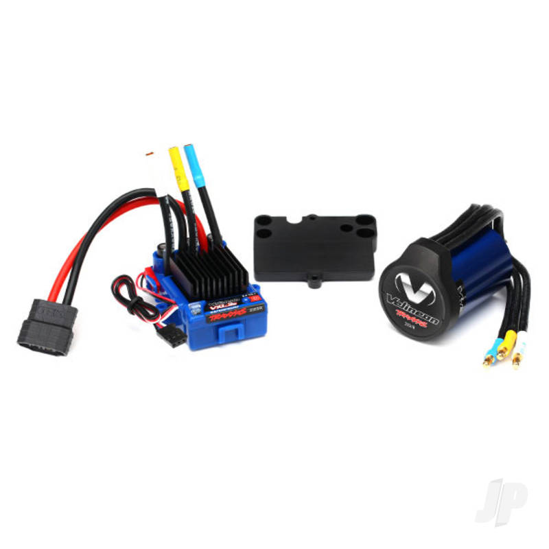 Velineon VXL-3s Brushless Power System, waterproof (includes VXL-3s waterproof ESC, Velineon 3500 motor, and speed control mounting plate (part #3725R))